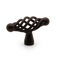 Richelieu Hardware BP10555ORB Traditional Metal Knob - 105 in Oil-Rubbed Bronze