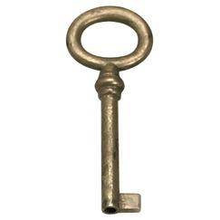 Richelieu Hardware 3372842163 Key (Universal) in Oxidized Brass
