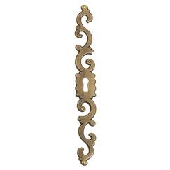 Richelieu Hardware 88348130 Keyhole Plate in Brass