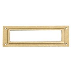 Richelieu Hardware 45123130 Card Holder in Brass