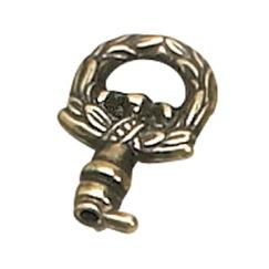 Richelieu Hardware 3572637BB Mock Key in Burnished Brass