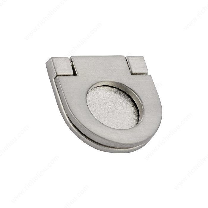 richelieu bp77325195 richelieu hardware bp77325195 metal recessed pull in brushed nickel