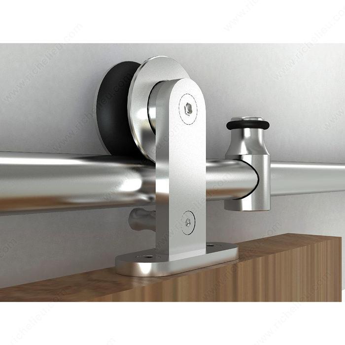 Richelieu 2460120SSPVC Industrial Sliding Door Set For Suspended Wooden Door