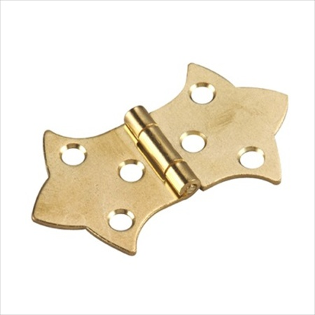 Richelieu Hardware 492Bv Brass Deco Joint Butterfly Hinge 3/4 Inch Brass Finish