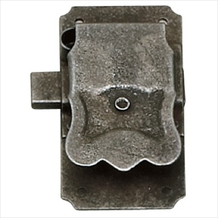 Richelieu Hardware 77820907 Decorative Metal Surface Mount Lock 41X81MM Wrought Iron Finish