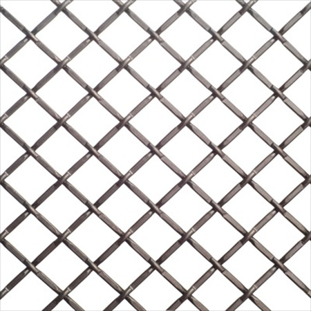 Richelieu Hardware 881214142 Contemporary Decorative Wire Mesh 36 Inch X 48 Inch Antique Pewter Finish