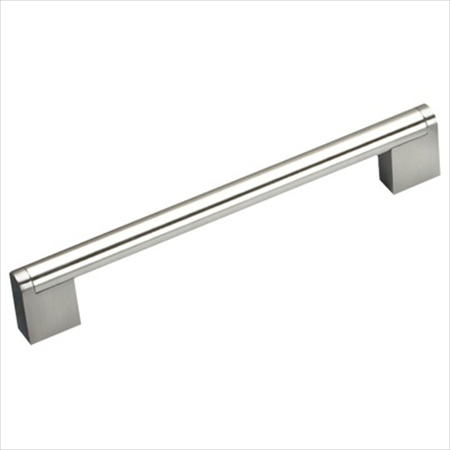 Richelieu Hardware Bp71996195 Contemporary Metal Appliance Pull 96MM Brushed Nickel Finish