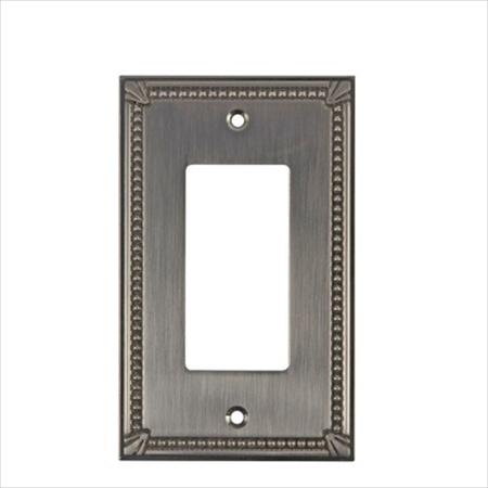 Richelieu Hardware Bp861195 Contemporary Decorative Switch Plate 125X77MM Brass Finish