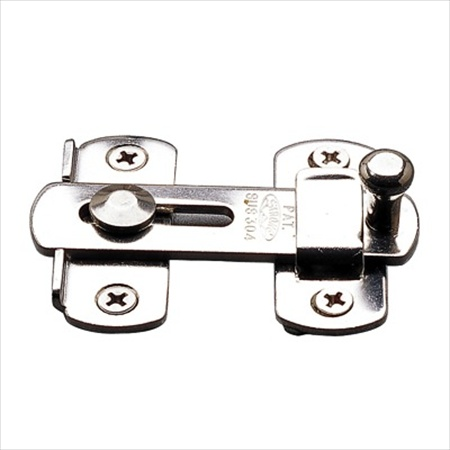 Richelieu Hardware 75070170 Contemporary Steel Shutter Latch 70MM Stainless Steel Finish