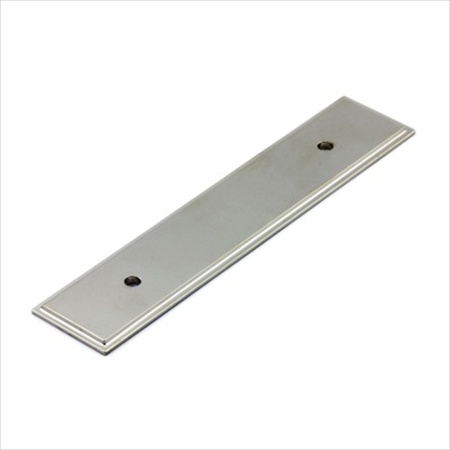 Richelieu Hardware Bp104596180 Rectangular Metal Pull Backplate 96MM Nickel Finish