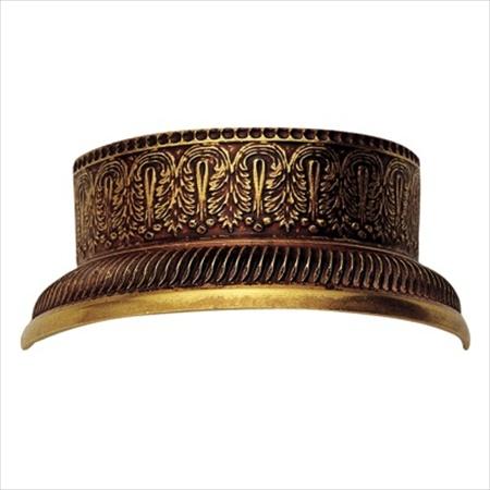 Richelieu Hardware 959451168 Traditional Brass Half Ring 45MM Empire Brass Finish