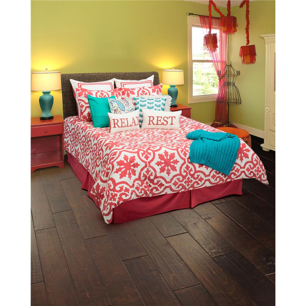 Rizzy Home BT1295 Molly 3 pc King Set in Coral
