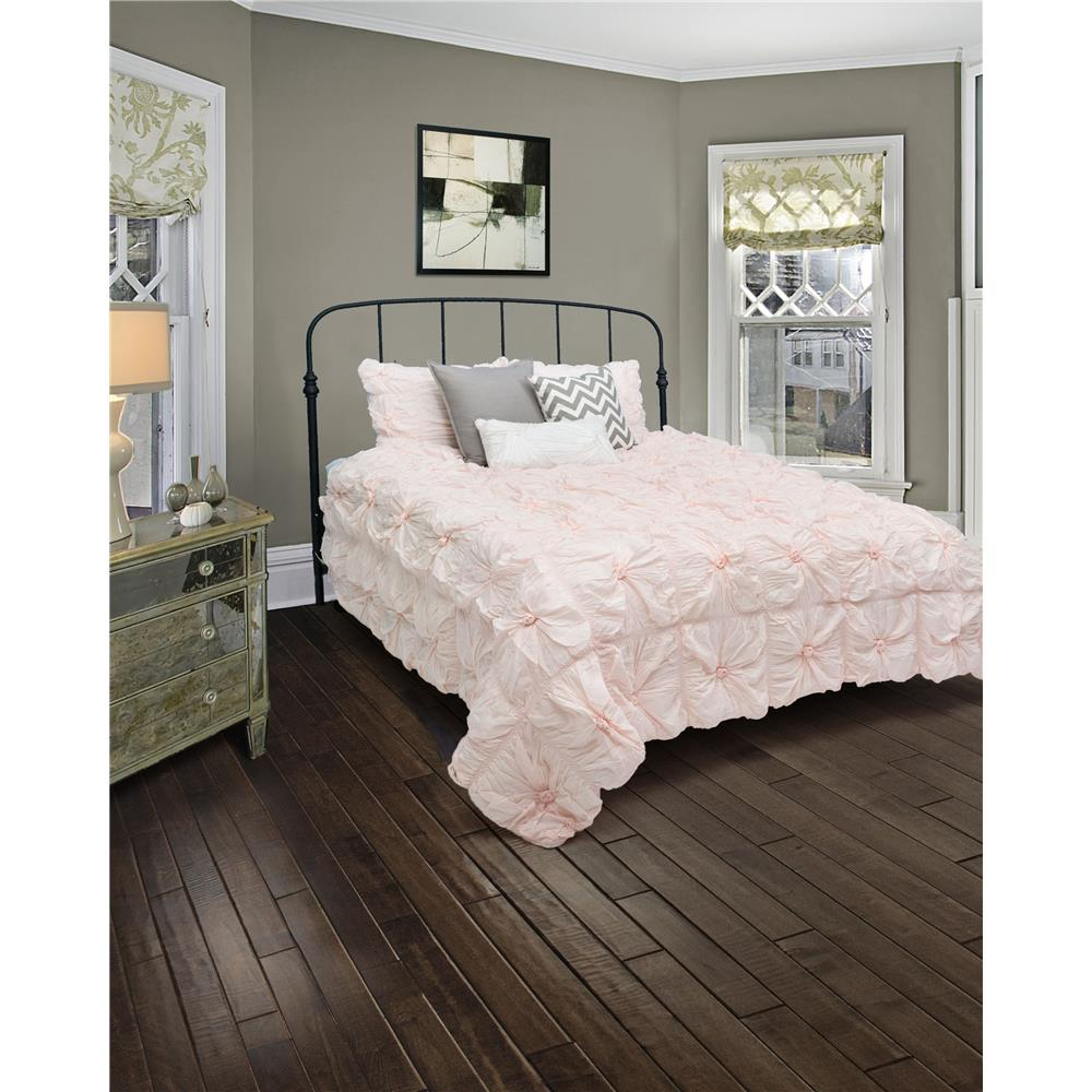 "Rizzy Home BT1392 SK Q 16"" drop Solid Color Bed Skirt"