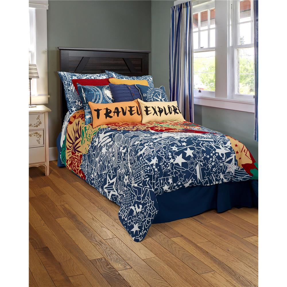 Rizzy Rugs BT1434 T100% Cotton Comforter with Polyester Fill