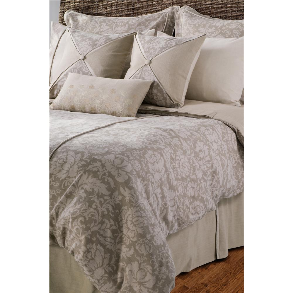 Rizzy Home BT0887 Venezia King Duvet with Poly Insert Bed Set in Khaki
