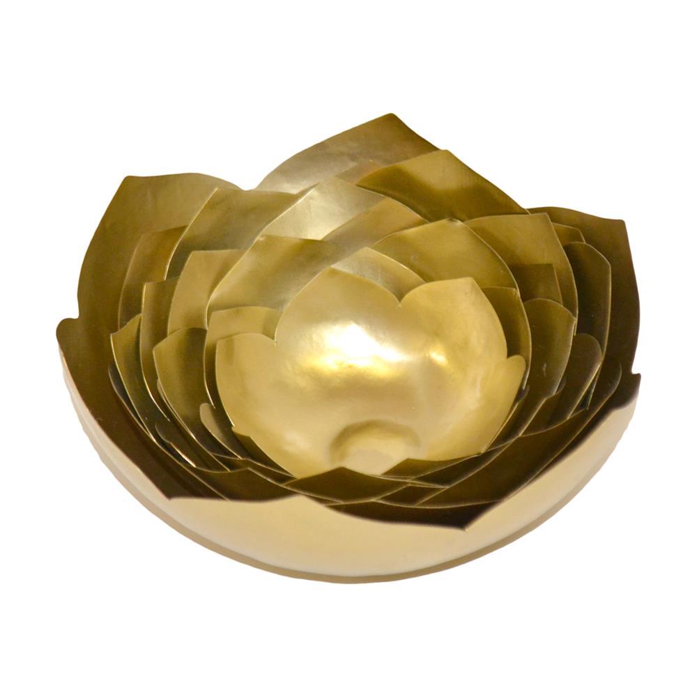 Brunei by Rojo 16 01006E1 Golden Luxury Lotus Bowl