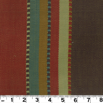 Roth and Tompkins D2451 APACHE Fabric in BRICK