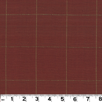 Roth and Tompkins D2953 COPLEY SQUARE Fabric in CARDINAL
