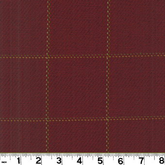 Roth and Tompkins D2518 FRAZIER Fabric in BURGUNDY