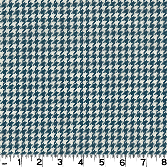 Roth and Tompkins D2922 HOUNDSTOOTH Fabric in NAVY