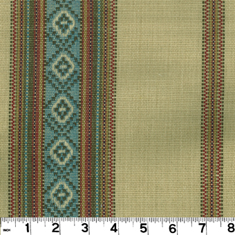 Roth and Tompkins DDR-02 SANDOVAL SERAPE Fabric in TORTILLA