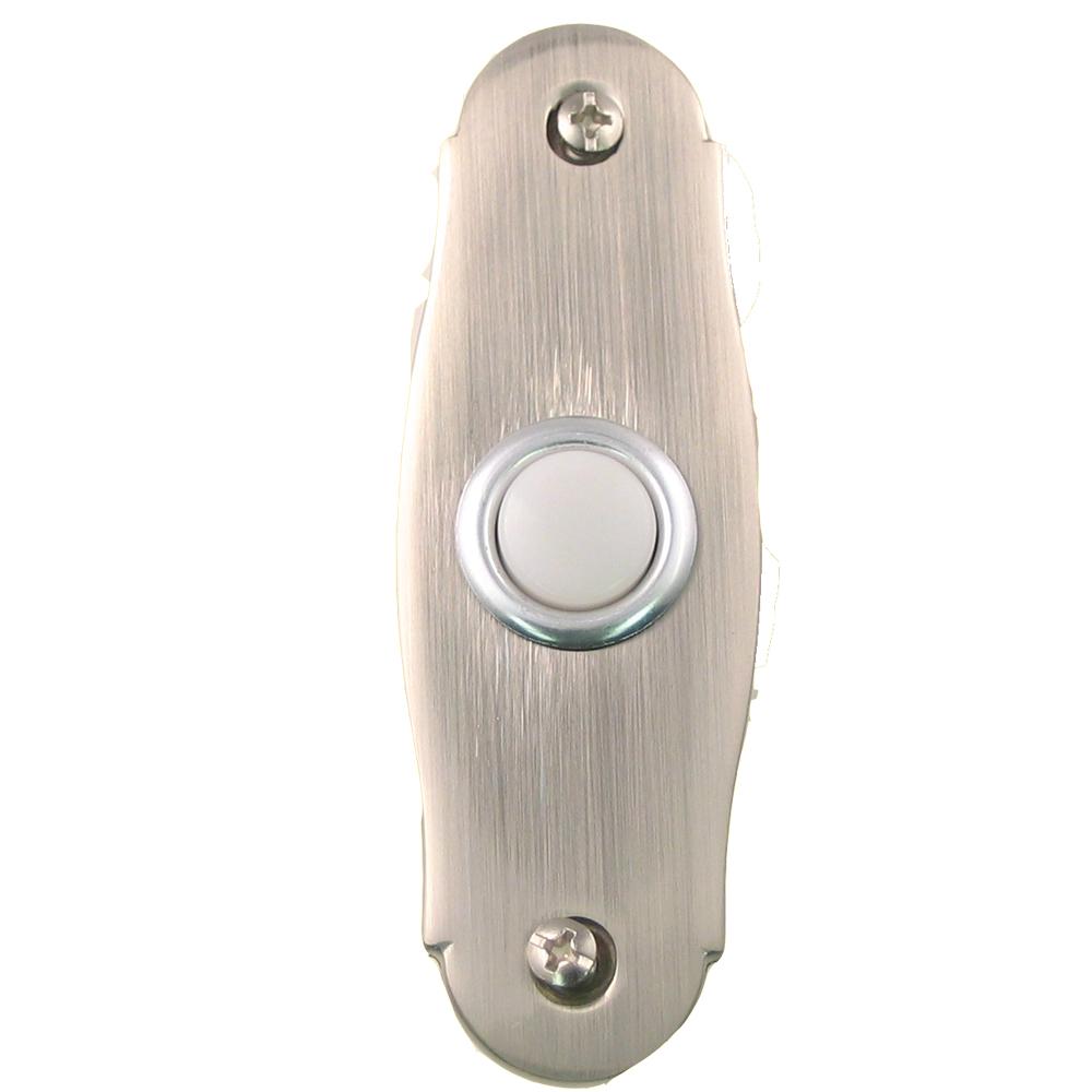 Rusticware 770-SN Door Bell Button in Satin Nickel