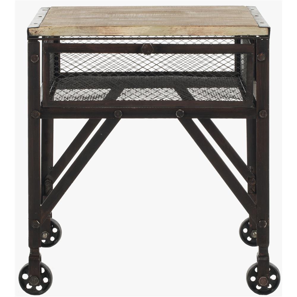Linus 79cm White Marble Coffee Table: GoingDecor