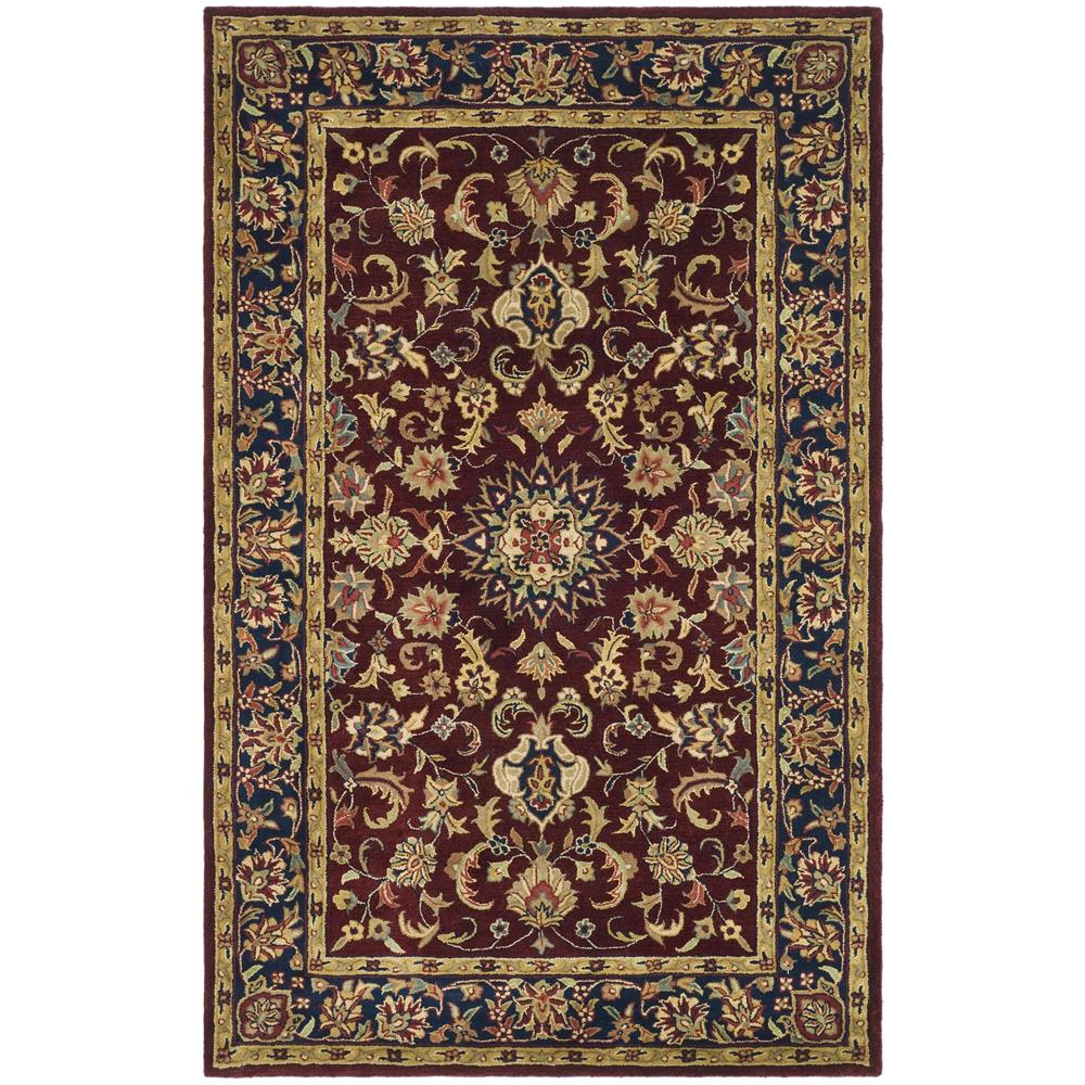 Safavieh CL362A-2 Classic Area Rug in BURGUNDY / NAVY