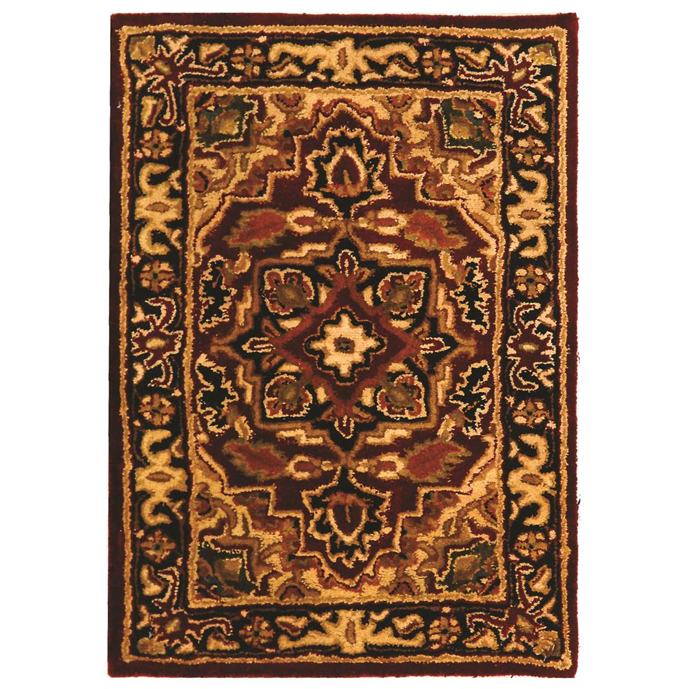 Safavieh CL763B-2 Classic Area Rug in RED / NAVY