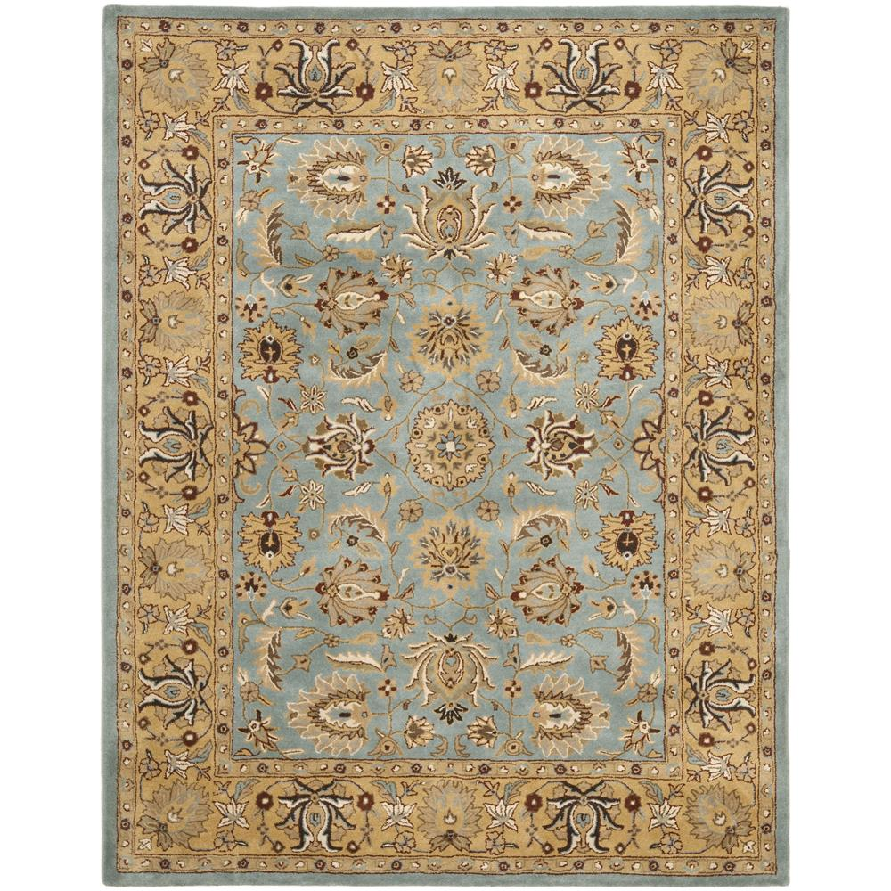 Safavieh HG958A-2 Heritage Area Rug in BLUE / GOLD