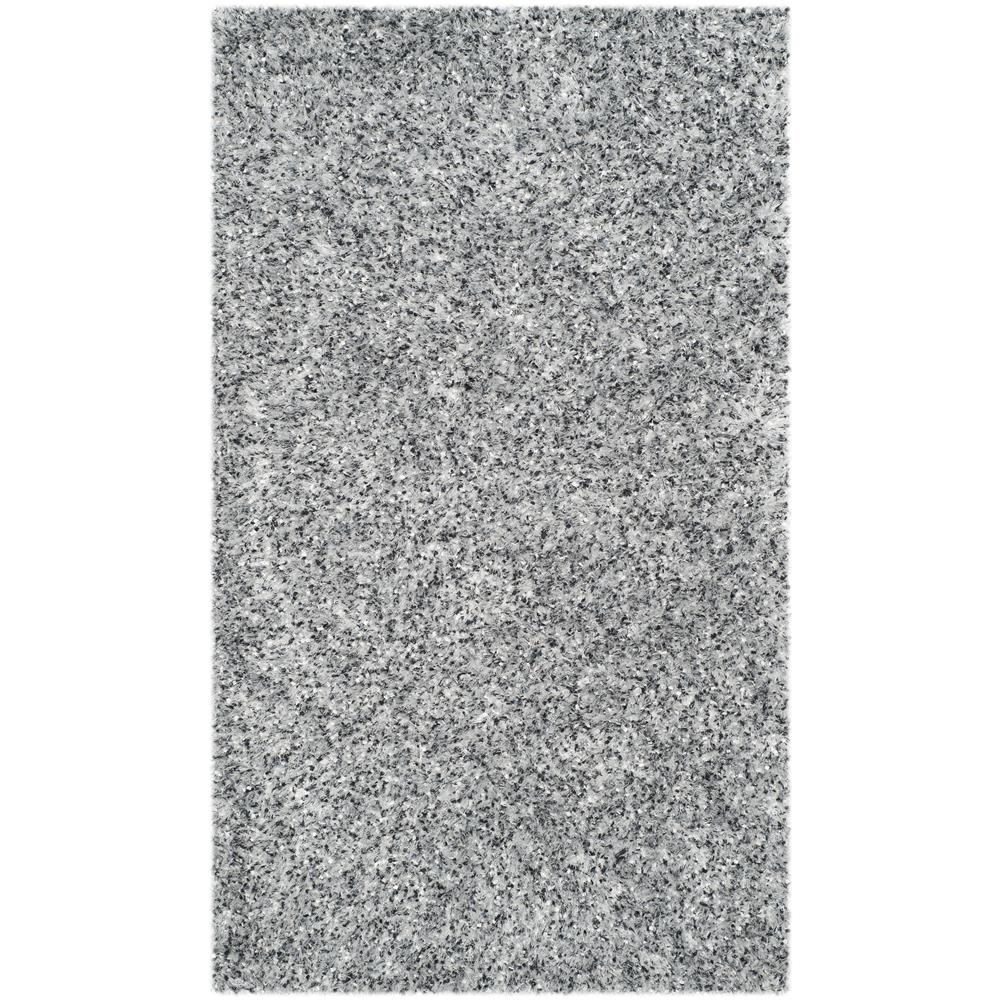 Safavieh MLS431S-24 Malibu Shag Area Rug in SILVER