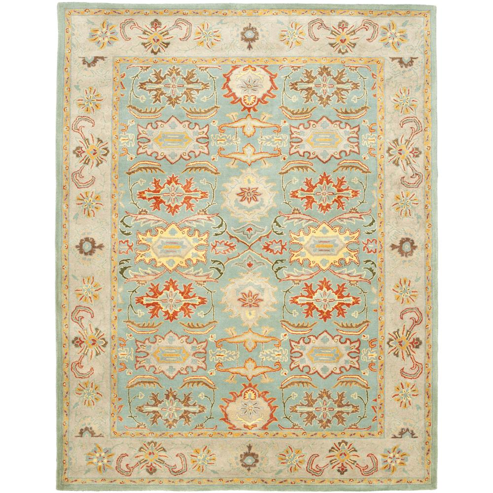 Safavieh HG734A-2 Heritage Area Rug in LIGHT BLUE / IVORY