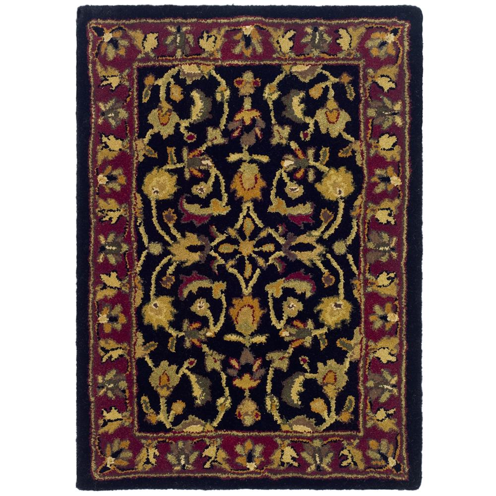 Safavieh HG953A-2 Heritage Area Rug in Black / Red