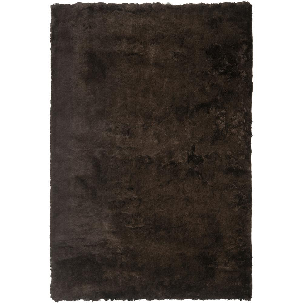 Safavieh SG511-2727-2 Paris Shag Area Rug in CHOCOLATE / CHOCOLATE