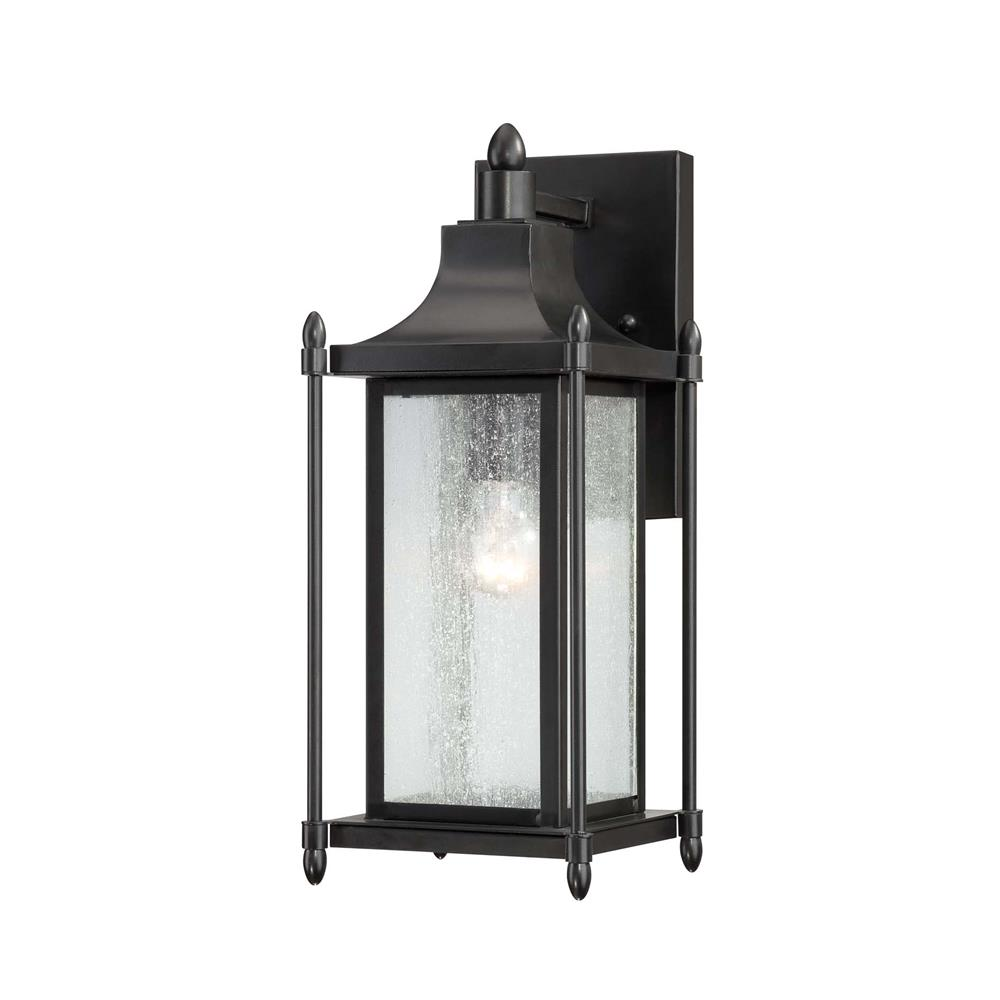 Outdoor Wall Lighting Sconces Color Finish Blacks