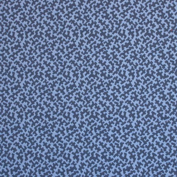 Silver State JIGSAW INDIGO Fabric in Indigo