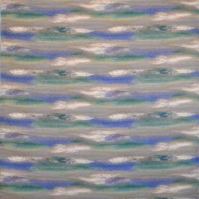 Silver State WATERCOLOR OCEAN Fabric in Ocean
