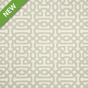 Silver State 45991 Fretwork 02 Pewter SUNBRELLA Fabric