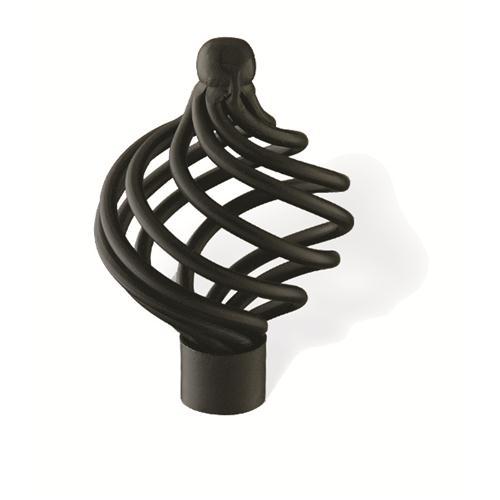 Siro Design 65-144 PROVENCE 1303-40MM KNOB IN MATTE BLACK