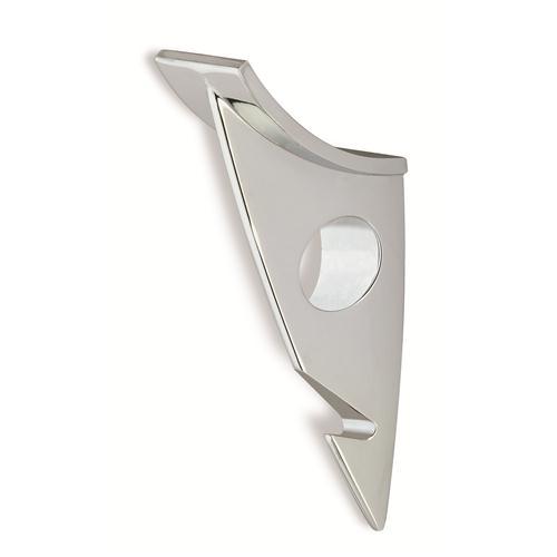 Siro Design 70-154 STREAMLINE 1284 DESIGNER HOOK  IN BRIGHT CHROME