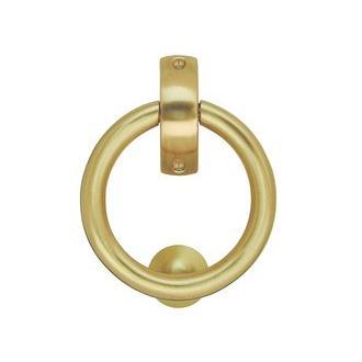 Smedbo B098KM Smedbo B098KM 5 1/8 in. Finnish Ring Knocker in Brushed Chrome
