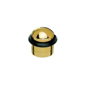 Smedbo B143 1 1/2 in. Villa Door Stop in Polished Brass