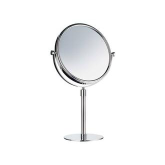Smedbo FK435 7 7/8 in. Free Standing Shaving Mirror in Polished Chrome from the Outline Collection