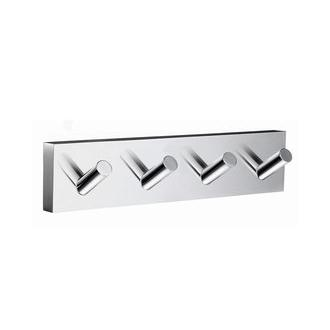Smedbo RK359 7 in. 4 Hook Towel Hook in Polished Chrome from the House Collection