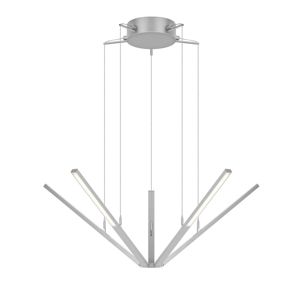 Sonneman 2300.16 Starflex® LED Pendant in Bright Satin Aluminum