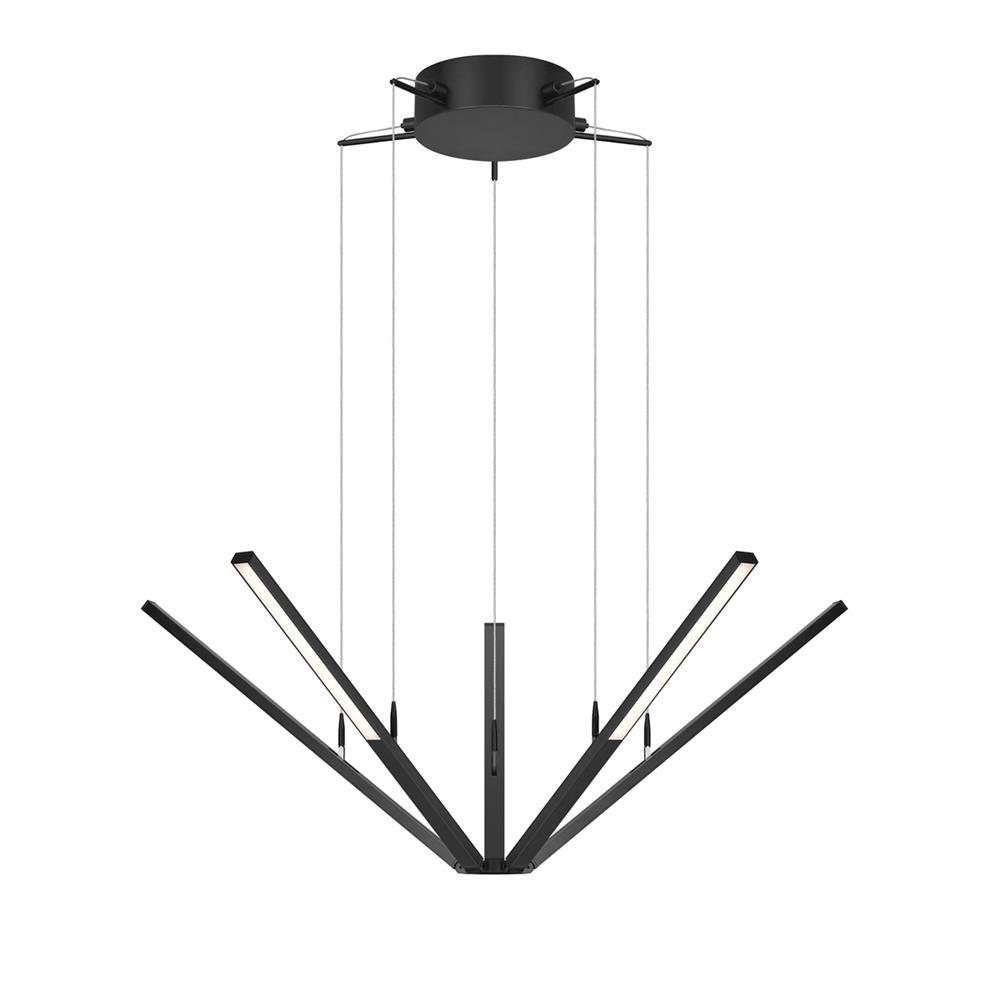 Sonneman 2300.25 Starflex® LED Pendant in Satin Black