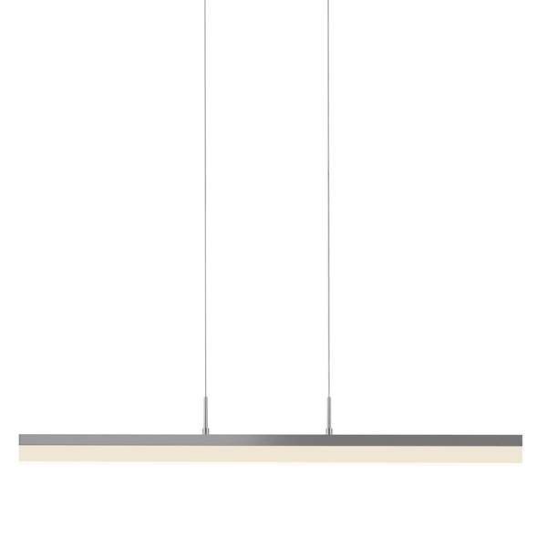 "Sonneman 2346.16 Stiletto 32"" LED Pendant in Bright Satin Aluminum"