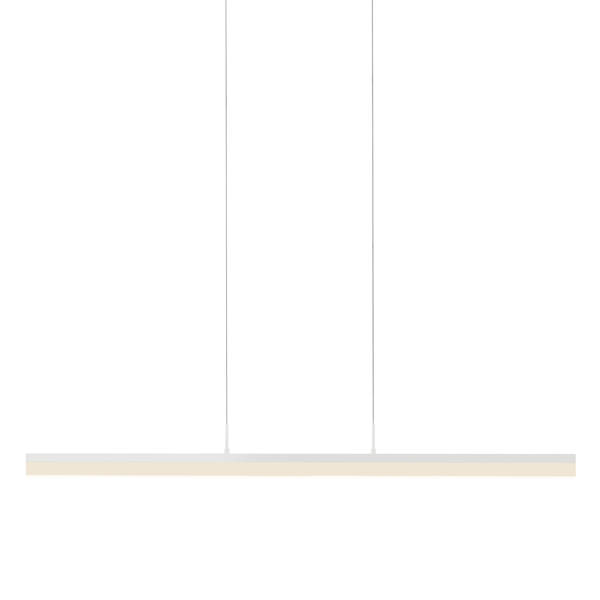 "Sonneman 2347.03 Stiletto 44"" LED Pendant in Satin White"