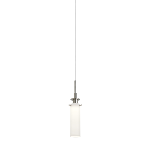 Sonneman 3025.13 Candle Plus LED Pendant in Satin Nickel