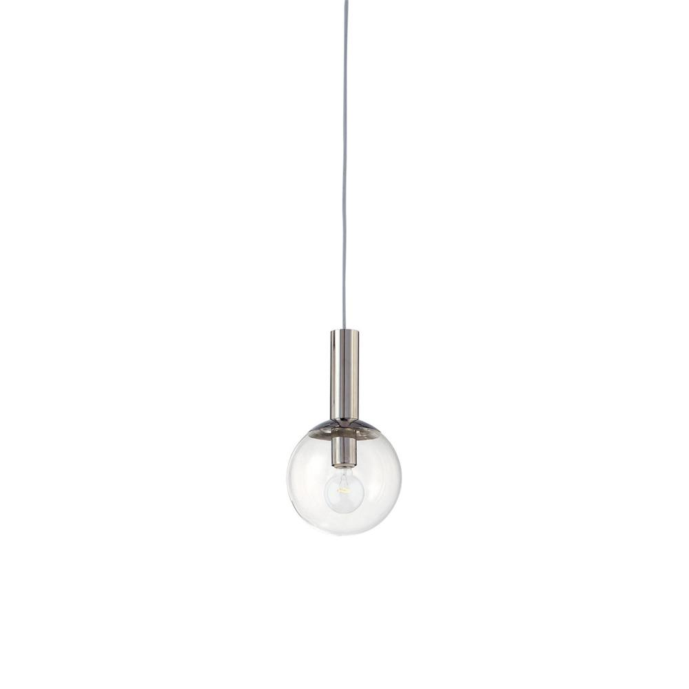 "Sonneman 3760.35 Bubbles 8"" 1-Light Pendant in Polished Nickel"